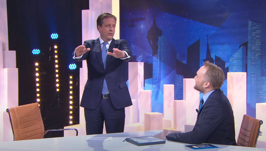 Verkiezingen - Politici in amusementsprogramma's is a no go - Alexander Pechtold Arjen Lubach