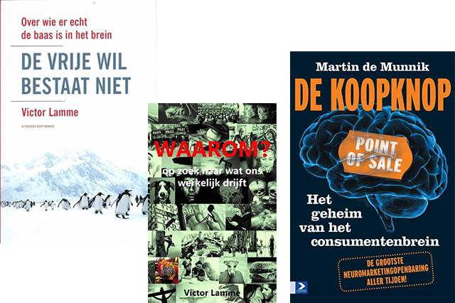 Boeken Victor Lamme en Martin de Munnik