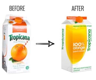 Branding learning: Hoe Tropicana 30 miljoen verloor door een nieuwe productverpakking