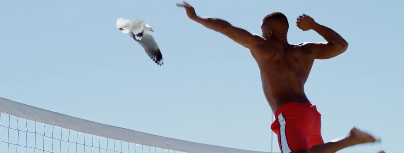 Neuromarketing learning 3 - Specsavers Beach volleybal meeuw