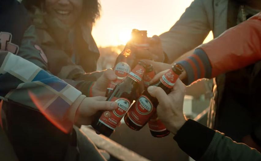 Amstel reclame - Proost prutser! Jij ook pik!